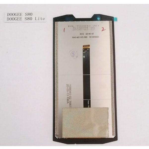 خرید تاچ و ال سی دی گوشی دوجی اس 80 For 100% Original DOOGEE S80 LCD Display and Touch Screen Digitizer Assembly For DOOGEE S80 Lite 5.99″ 2160x1080P