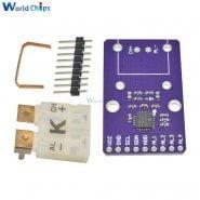 خرید ماژول از علی اکسپرس MCP9600 CJMCU-96 Type K T J Thermocouple Converter Module I2C IIC Interface EMF Converter 2.7V to 5.5V