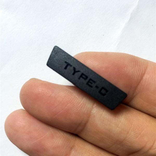 خرید پوشش پورت گوشی دوجی اس 90 New Original Type-C Anti Dust plug For DOOGEE S90 Cell Phone Cover Protector Replacement Parts For DOOGEE S90