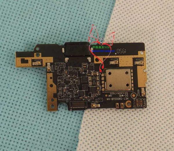 برد شارژ گوشی دوجی اس 95 پرو Original New DOOGEE S95 Pro 6.3inch IP68/IP69K Cell Phone Inside Parts Usb Board Charging Dock Replacement Accessories