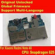خرید برد اصلی گوشی ردمی نوت 4 ایکس Original Unlock MainBoard For Xiaomi Redmi Note 4X note 4 Global Version 3 32GB Snapdragon 625 MotherBoard Frimware MIUI Note4X