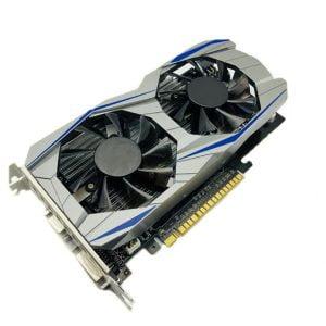 Professional-GTX1050TI-4GB-DDR5-Graphics-Card-Silver-blue-128Bit-HDMI-DVI-VGA-GPU-Game-Video-Card