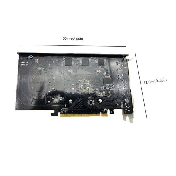 خرید کارت گرافیک از علی اکسپرس Professional GTX1050TI 4GB DDR5 Graphics Card Silver blue 128Bit HDMI DVI VGA GPU Game Video Card For NVIDIA PC Gaming