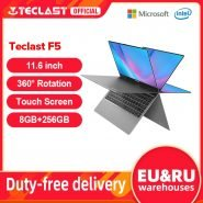 خرید لپ تاپ تلکست Teclast F5 11.6 inch Touch Screen Laptop 8GB DDR4 256GB SSD Windows 10 Notebook Intel N4100 1920×1080 IPS 360°
