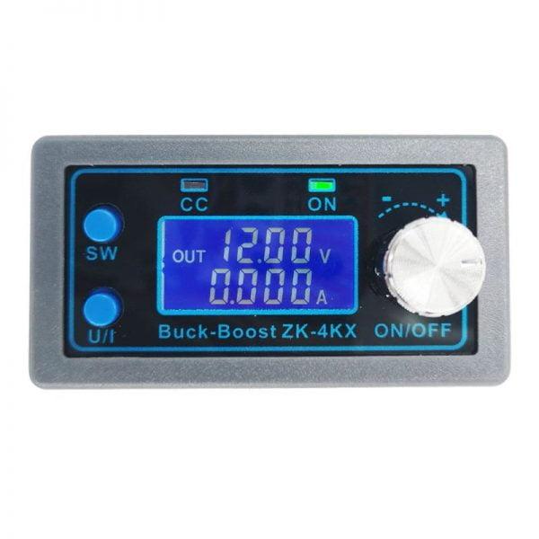 ZK-4KX CNC DC-DC Buck Boost Converter Module CC CV 0.5-30V 4A Adjustable Step Down Up Voltage Regulator