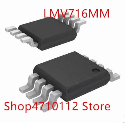 10PCS/LOT NEW LMV716MM LMV716MMX LMV716 MARKING AR3A MSOP-8