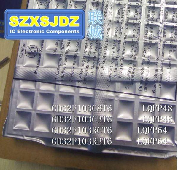 1pcs-5pcs MCU GD32F GD32F103C8T6 GD32F103CBT6 GD32F103RCT6 GD32F103RBT6