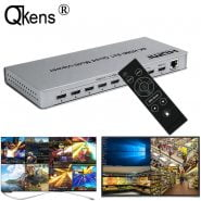 4K HDMI 8×1 Quad Multi-viewer Switcher 8 In 1 Out Seamless Switch 4×1 Multi Viewer PIP Picture Screen Divider Video Converter