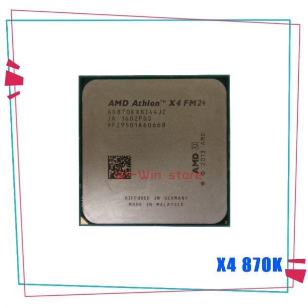 خرید سی پی یو از علی اکسپرس AMD Athlon X4 870K 3.9 GHz Quad-Core CPU Processor AD870KXBI44JC Socket FM2
