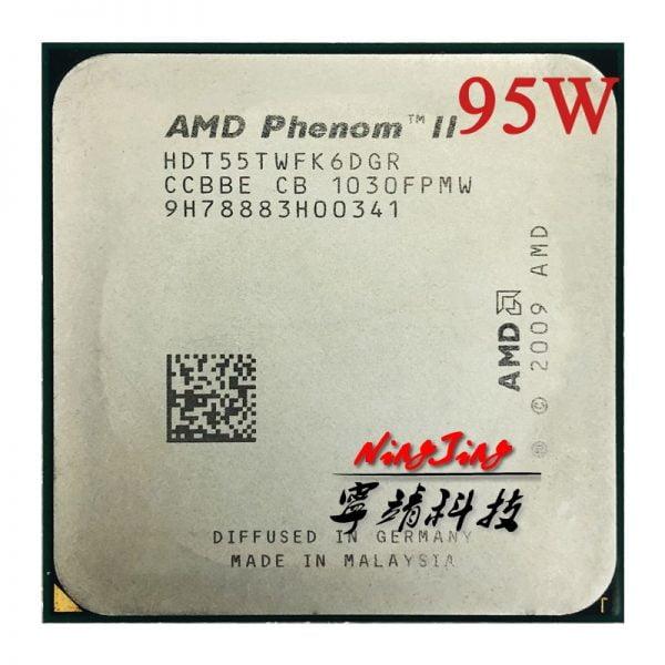 خرید پردازنده از علی اکسپرس AMD Phenom II X6 1055T 1055 2.8G 95W Six-Core CPU processor HDT55TWFK6DGR Socket AM3