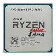 خرید سی پی یو از علی اکسپرس AMD Ryzen 5 PRO 4650G R5 PRO 4650G 3.7 GHz Six-Core Twelve-Thread 65W CPU Processor L3=8M 100-000000143 Socket AM4
