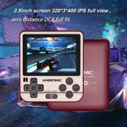 خرید کنسول بازی از علی اکسپرس ANBERNIC RG280V Pocket Retro Game Console Adults Handheld Mini Gaming Player 16GB 32GB Mini Handheld Gaming