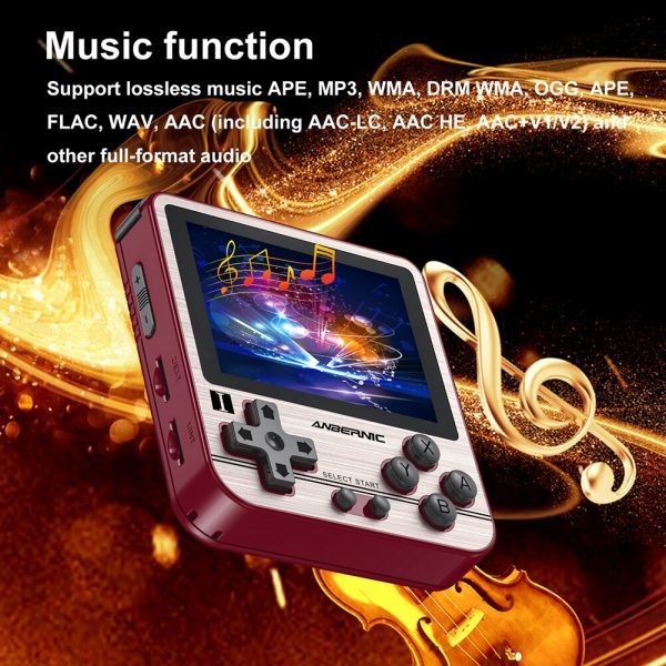 خرید کنسول بازی از علی اکسپرس ANBERNIC RG280V Pocket Retro Game Console Adults Handheld Mini Gaming Player 16GB 32GB Mini Handheld Gaming