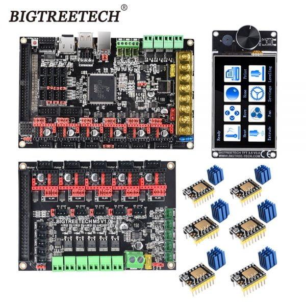 Bigtreetech Gtr V1.0 Besturingskaart M5 V1.0 TFT35 V3.0 Screen TMC2208 TMC2209 A4988 3D Printer Onderdelen Skr V1.4 Voor Ender 3/5