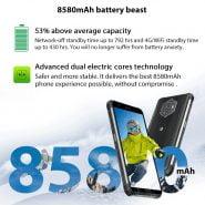 خرید گوشی بلک ویو از علی اکسپرس Blackview BV6600 IP68 Waterproof 8580mAh Rugged Smartphone Shockproof Phones 4GB 64GB 5.7″ Mobile Phone