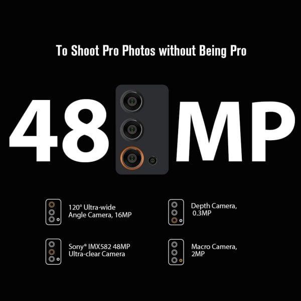 خرید گوشی بلک ویو از علی اکسپرس Blackview BV9900E Helio P90 Rugged Smartphone 6GB 128GB IP68 Waterproof 4380mAh 48MP Camera NFC