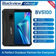 خرید گوشی بلک ویو از علی اکسپرس Blackview Global Version BV5100 4GB 64GB Mobile Phone IP68 Waterproof Rugged Phone 5580mAh 5.7″