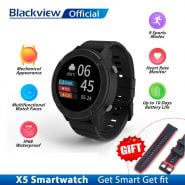 خرید ساعت هوشمند بلک ویو Blackview IP68 SmartWatch X5 Men Women Sports Watch Clock Sleep Monitor Fitness Tracker Heart Rate