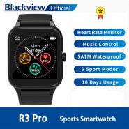 ساعت هوشمند بلک ویو Blackview SmartWatch R3 Pro Heart Rate Men Women Sports Watch Clock