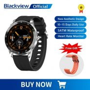 خرید ساعت هوشمند بلک ویو Blackview X1 SmartWatch 5ATM Waterproof Heart Rate Activity Tracking Sleep Monitor