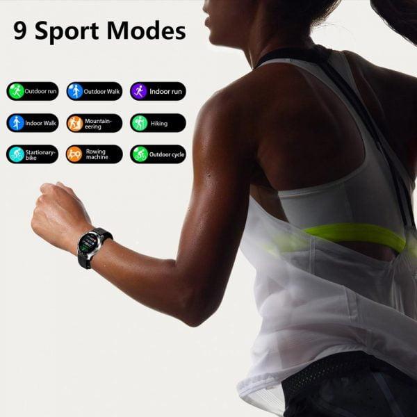 خرید ساعت هوشمند بلک ویو Blackview X1 SmartWatch 5ATM Waterproof Heart Rate Activity Tracking Sleep Monitor