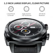 خرید ساعت هوشمند کوبات Cubot C3 Smartwatch 2020 1.3 inch Waterproof 5ATM Heart Rate Monitor Sport Touch Fitness