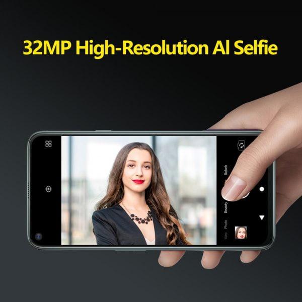 خرید گوشی کوبات Cubot C30 48MP Quad AI Camera 8GB 256GB 32MP Selfie Smartphone Global 4G LTE Helio P60 NFC 6.4