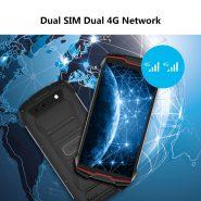 خرید گوشی کوبات Cubot KingKong MINI2 Waterproof Rugged Phone 4″ QHD Screen 4G LTE Dual-SIM Face ID Android 10 3GB 32GB 13MP