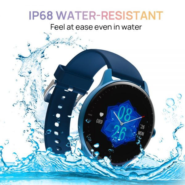 خرید ساعت هوشمند دوجی DOOGEE CR1 Smart watch IP68 Waterproof Bluetooth 5.0 Sleep Monitor Fitness Heart Rate