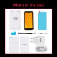 خرید گوشی دوجی اس 59 از علی اکسپرس DOOGEE S59 Pro smartphone 10050mAh Super Battery IP68/IP69K 4 128GB NFC Rugged Smart phone 2W