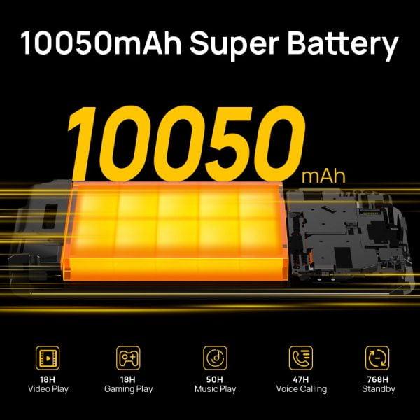 خرید گوشی دوجی اس 59 از علی اکسپرس DOOGEE S59 rugged smartphone 10050mAh super battery 4GB 64GB smartphone