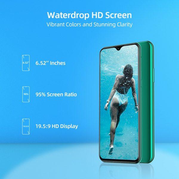 خرید گوشی موبایل دوجی ایکس 95 DOOGEE X95 Pro 4GB RAM 32GB ROM Android10 OS 4G-LTE Helio A20 13MP Triple Camera