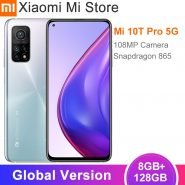 خرید گوشی شیائومی می 10 تی پرو از علی اکسپرس Global Version Xiaomi Mi 10T Pro 8GB RAM 128/256GB ROM Smartphone Snapdragon 865 Octa Core 144Hz