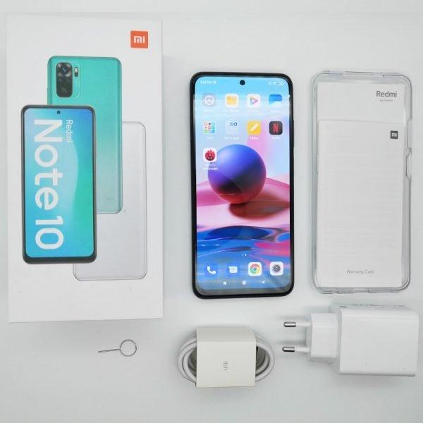 خرید گوشی شیائومی ردمی نوت 10 از علی اکسپرس Global Version Xiaomi Redmi Note 10 4GB RAM 64GB / 128GB ROM Mobile Phone Snapdragon 678 6.43″