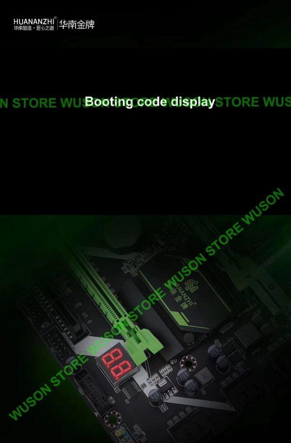HUANANZHI X58 Deluxe Motherboard Bundle On Sale Processor Intel Xeon X5675 6 Heatpipes Cooler Big Brand Memory 24G(3*8G) RECC