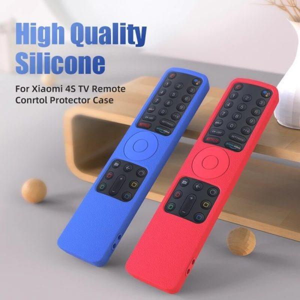 Half covers for xiaomi 4s XMRM-010 smart remote control SIKAI case Silicone Shockproof Cover For mi 4s remote controller