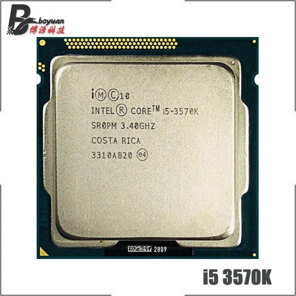 خرید پردازنده اینتل از چین Intel Core i5-3570K i5 3570K 3.4 GHz Quad-Core CPU Processor 6M 77W LGA 1155
