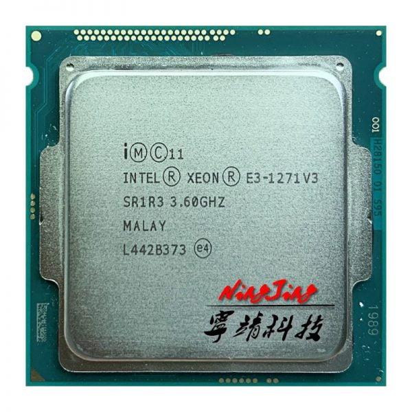 خرید سی پی یو از علی اکسپرس Intel Xeon E3-1271 v3 E3 1271 v3 E3 1271v3 3.6 GHz Quad-Core Eight-Thread CPU Processor L2=1M L3=8M 80W LGA 1150