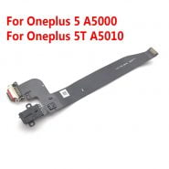 خرید قطعات گوشی وان پلاس New For Oneplus 5 A5000 5T A5010 6 6T 7 7T 8 Pro USB Charging Port Board Flex Cable Connector with Earphone Audio Jack Port
