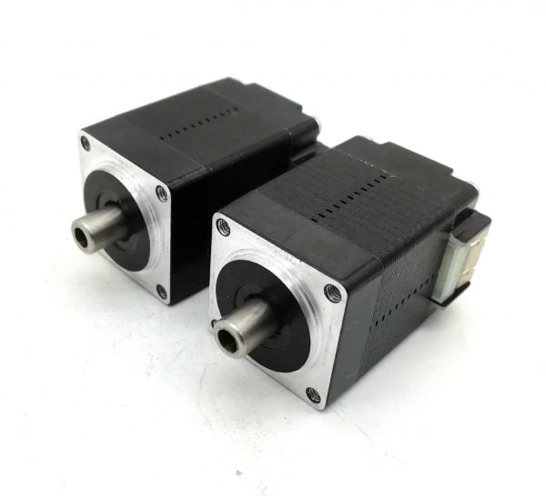 Nipple End NEMA8 Hollow Shaft Stepper Motor for pick n place head