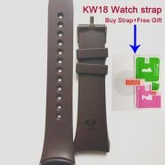 خرید لوازم ساعت هوشمند Original KW18 smart watch strap belt silicone bracelet factory direct 100% original fashion strap for Kingwear