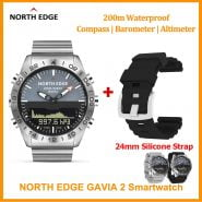 خرید ساعت هوشمند Originele Noord Rand Gavia 2 Smart Horloge Mannen Horloges Waterdicht 200M Hoogtemeter Kompas Dive Quartz Business