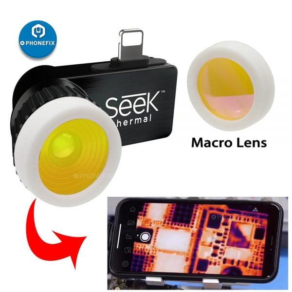خرید لنز مادون قرمز Seek Thermal Imaging Macro Lens for SEEK Compact PRO/ Compact /Compact XR Android Motherboard Infrared