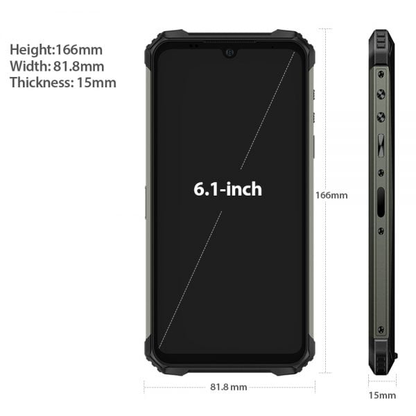 """خرید گوشی یولوفن آرمور 9 از علی اکسپرس Ulefone Armor 8 Rugged Mobile Phone NFC Android 10 Helio P60 4GB 64GB 16MP Triple Camera Octa-core 6.1"""""""