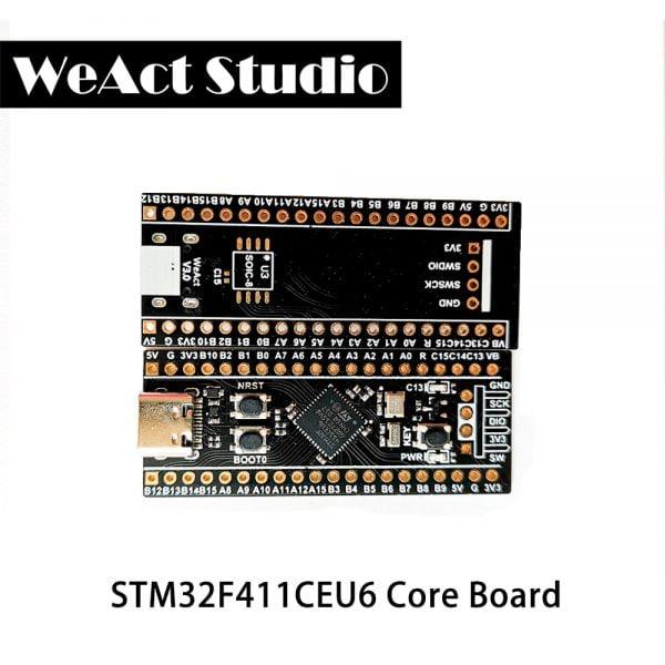 خرید برد از علی اکسپرس WeAct STM32F411CEU6 STM32F411 STM32F4 V3.0 Learning Board Micropython PYBoard Arduino BlackPill DemoBoard 512KB Flash