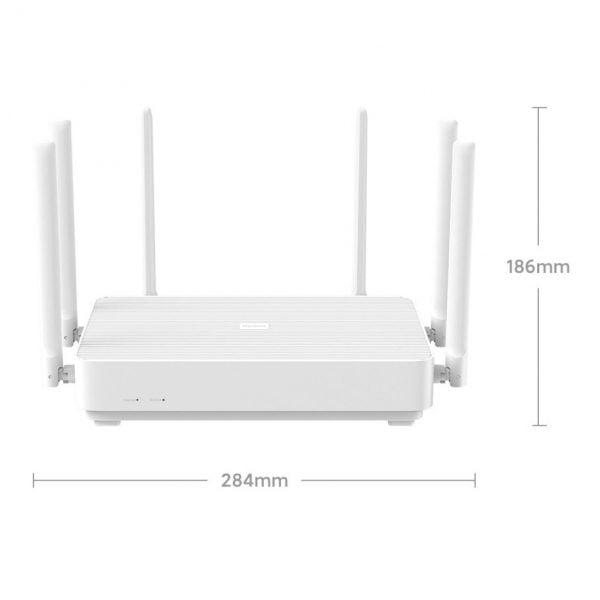 خرید روتر شیائومی Xiaomi Redmi Router AX6 WiFi6 6-Core 512M Memory Mesh Home IoT 6 Signal Amplifier 2.4G 5GHz Both 2 Dual-Band OFDMA NEW 2020 Wifi
