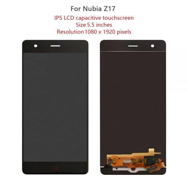 """5.5 """"Original For ZTE Nubia Z17 NX563J LCD Touch Screen Digitizer Assembly For ZTE Nubia Z17 Lite NX591J LCD Display Replacement"""