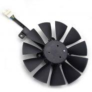 خرید فن کارت گرافیک ایسوس 87MM T129215SU Cooling Fan For ASUS STRIX R9 390X/R9 390 RX580 8G Gaming GTX 1070TI GTX1080TI Gaming