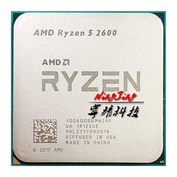 خرید مادربرد AMD Ryzen 5 2600 R5 2600 Original Used CPU ASROCK B450M STEEL LEGEND Original New Motherboard Suit Socket AM4