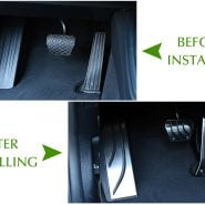 Brake Accelerator Fuel Car Pedal For BMW 1 2 3 4Series M3 M4 E87 E90 F20 F21 F30 F32 F36 F80 F82 Foot Rest Throttle Brake pedal